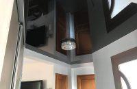 couloir-plafond-tendu-noir-laque-alpes-plafond