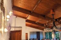 plafond tendu lambris avant
